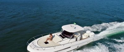 Fishing 330 Saint-Tropez will be at Ilhabela Boutique Boat Show
